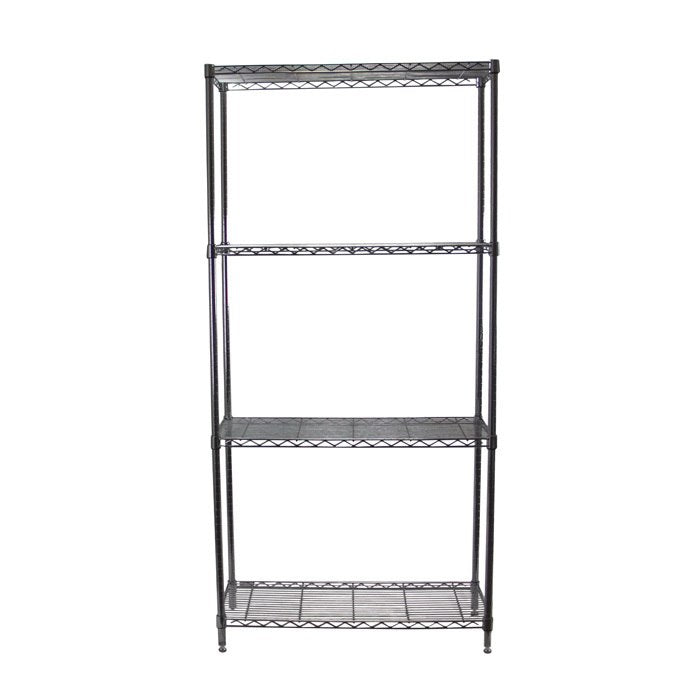 Chrome Adjustable 4 Shelf Kit - 18 x 36 Inches