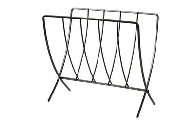Seville Magazine Rack - Black