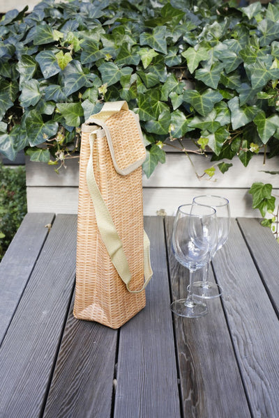Wicker Wine Cooler