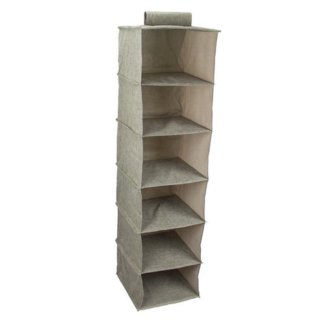 Premium 5 Pc Organized Closet Starter Kit In Shaker Beige