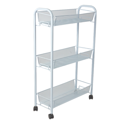 Maigre Mesh Cart White