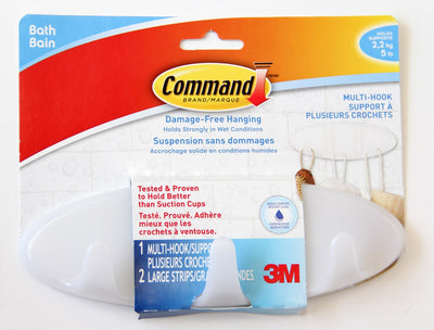 Command Multi-Use Bath Hook