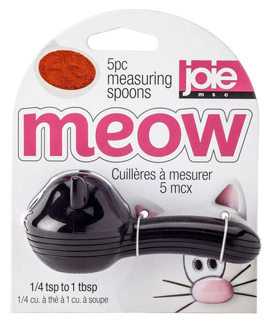Meow Measuring Spoons - 5Pc