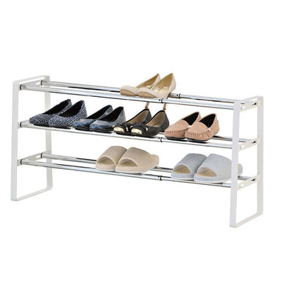 Square Shoe Rack 3-Tier