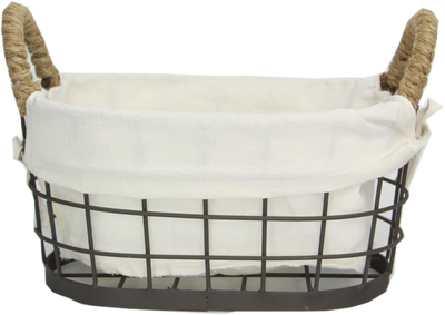 Wire Basket With Liner S