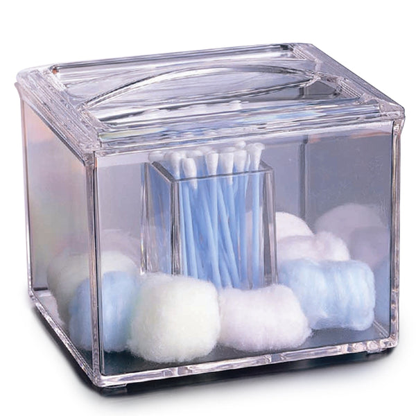 Square Swab & Cotton Ball Holder