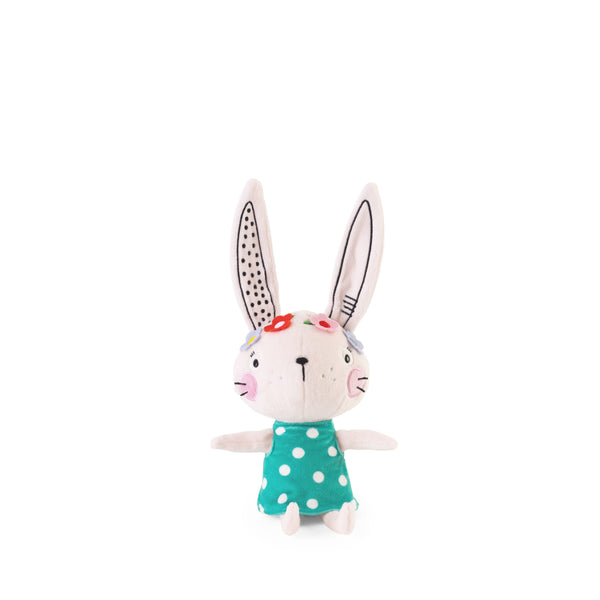Buy Lemon Ribbon Animal Bunny Rabbit Cuddly Toy, Small Cute Girl Character at shop.lemonribbon.com