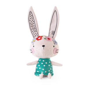 Buy Lemon Ribbon Animal Bunny Rabbit Cuddly Toy, Large Cute Girl Character at shop.lemonribbon.com