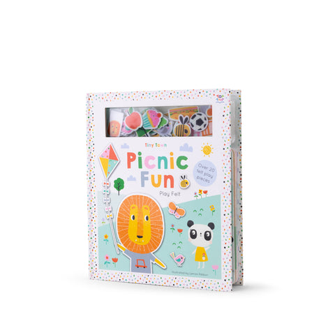 Buy Lemon Ribbon Kids' Novelty Felt Book Picnic Fun, a perfect short story for kids at shop.lemonribbon.com