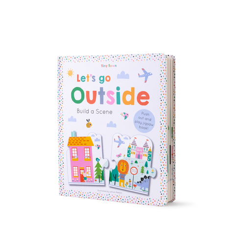 Buy Lemon Ribbon Kids' Jigsaw Scene Book Let's go Outside, a perfect short story for kids at shop.lemonribbon.com