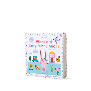 Buy Lemon Ribbon Kids' Novelty touch and trace Book What did Busy Bunny hear?, a perfect short story for kids at shop.lemonribbon.com