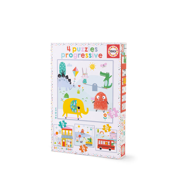 Buy Lemon Ribbon Kids' Progressive Jigsaw Puzzle, Educational Toy Online at shop.lemonribbon.com