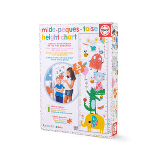 Buy Lemon Ribbon Kids' Height Chart Jigsaw Puzzle, Educational Toy Online at shop.lemonribbon.com