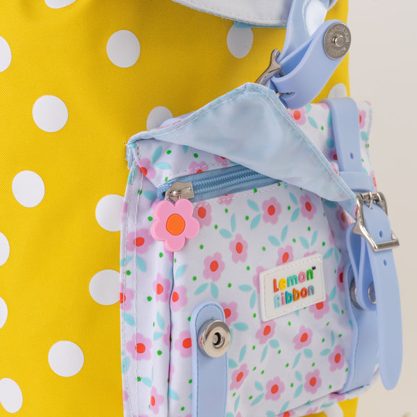 Buy Lemon Ribbon Kids' Drawstring Panda Backpack. Easy magnetic clasp and zip on Cute Girl Character at shop.lemonribbon.com