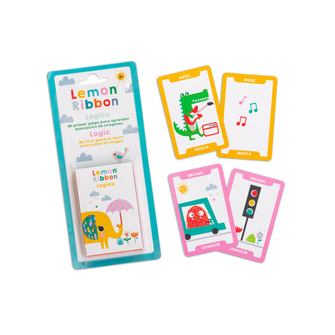Buy Lemon Ribbon Logic Playing Cards, Educational Toy Online at shop.lemonribbon.com
