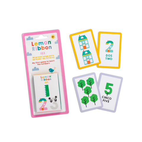 Buy Lemon Ribbon 123 Playing Cards, Educational Toy Online at shop.lemonribbon.com
