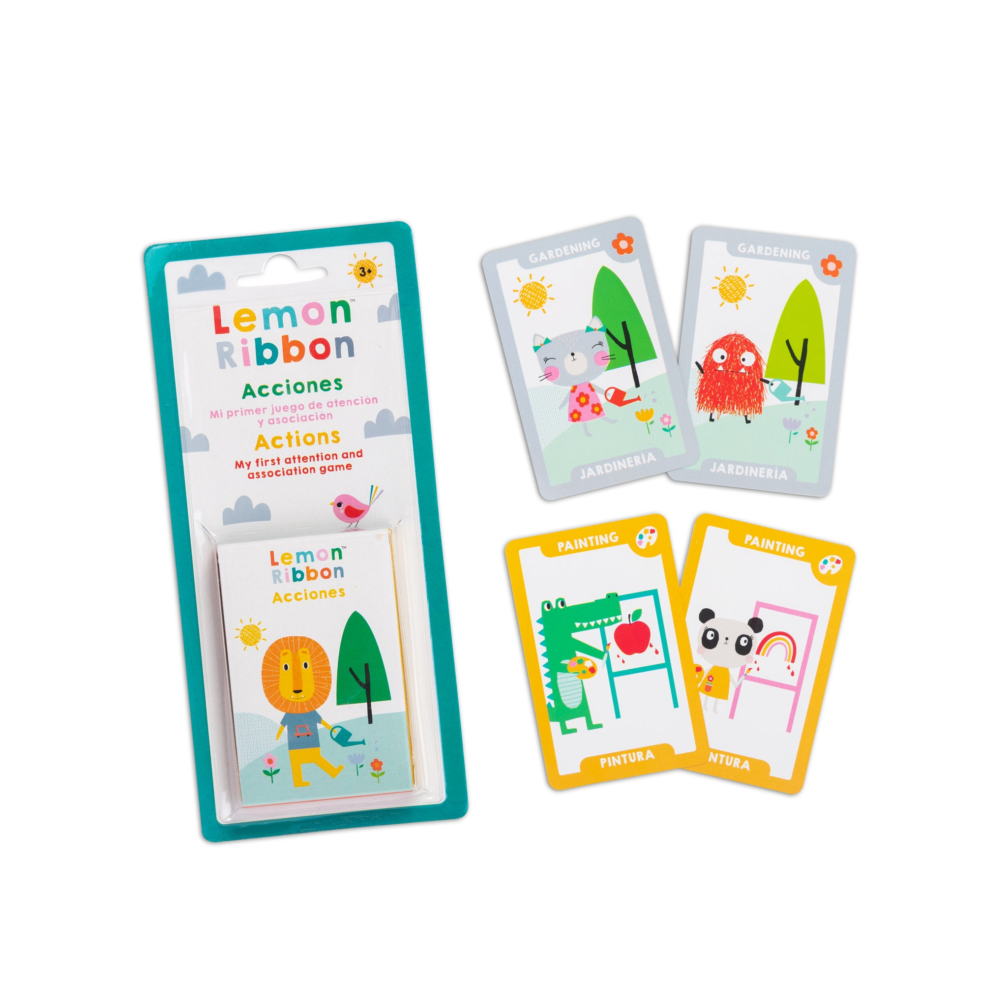 Buy Lemon Ribbon Action Playing Cards, Educational Toy Online at shop.lemonribbon.com