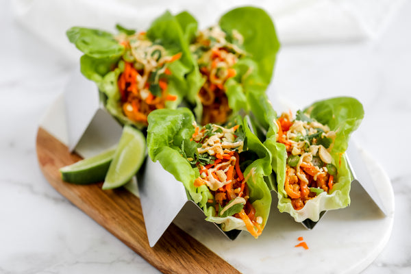 Aloha Chicken Lettuce Wraps - March Madness