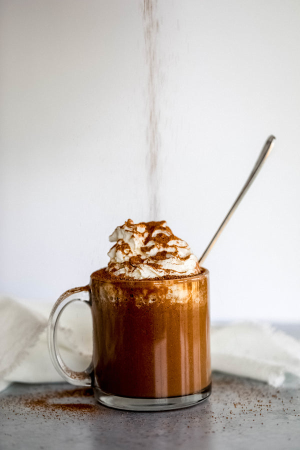 Caramel Mocha Protein Hot Chocolate