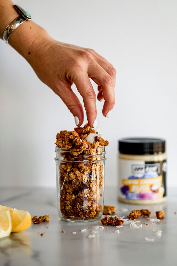 Lemon Coconut Granola - March Madness
