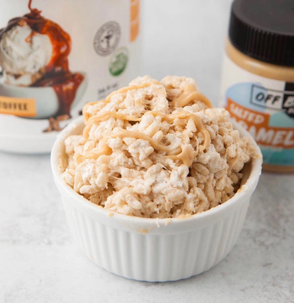 Salted Caramel Rice Krispy Treat
