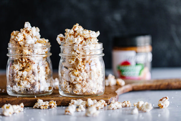 Gingerbread Cookie Popcorn