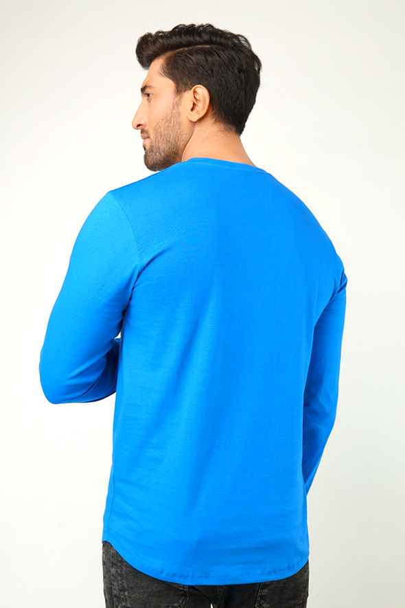 Monarch V-Neck Full Sleeve T-Shirt