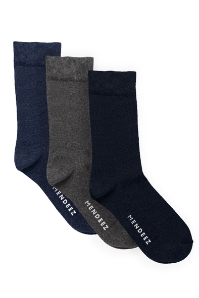 Pack of 3 – Solid Premium Socks