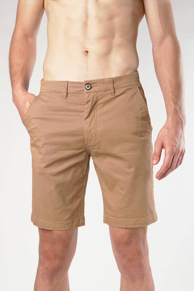 Tobacco Casual Shorts