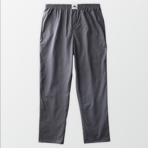 Woven Pajama Pants - Dark Grey Stripes