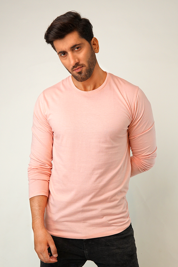Blush Full Sleeve T-Shirt