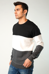 Beat Color Block Sweatshirt