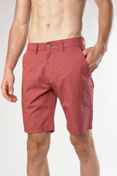 Rust Casual Shorts