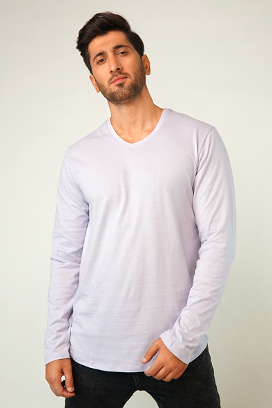 Esch V-neck Full Sleeve T-Shirt