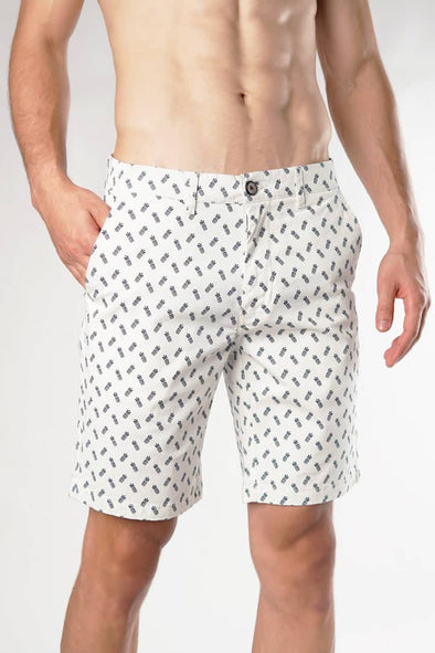 Pineapple Pattern Casual Shorts