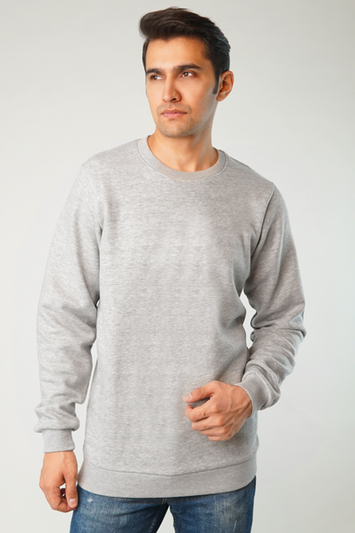 Weekday Fleece Crew Sweatshirt
