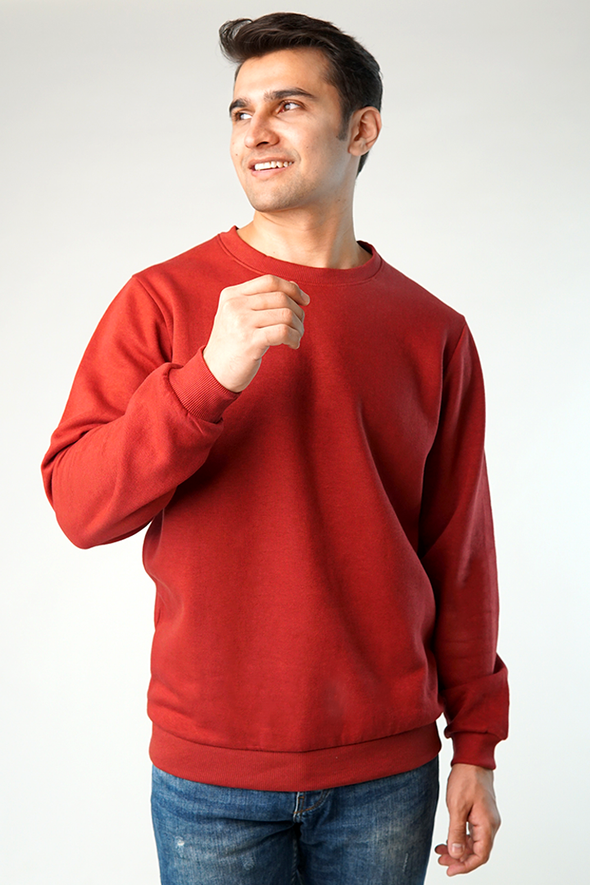 Forgo Fleece Crew Sweatshirt
