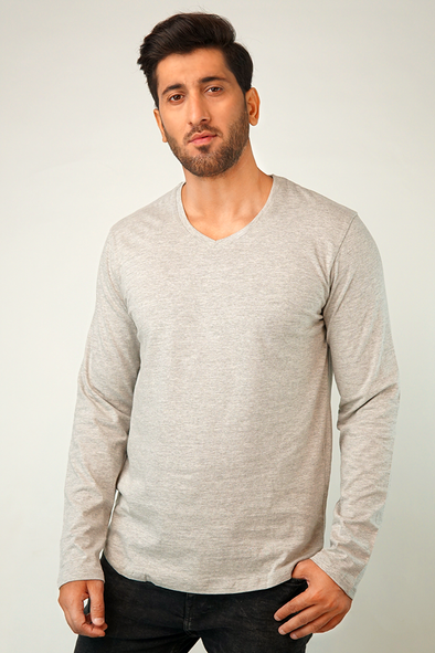 Stone Full Sleeve T-Shirt