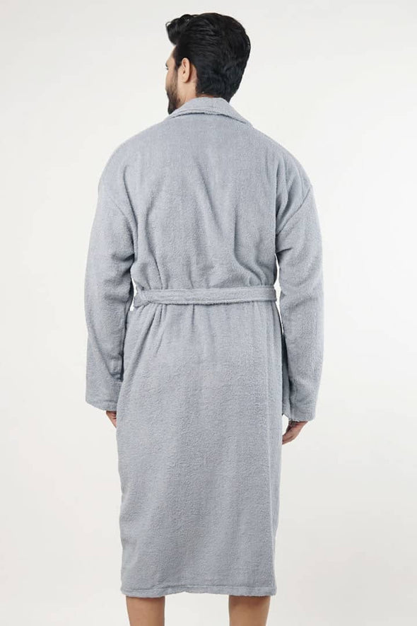 Typh Bathrobe - Ice Blue