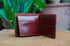 Tan Brown Tri-Fold Leather Wallet
