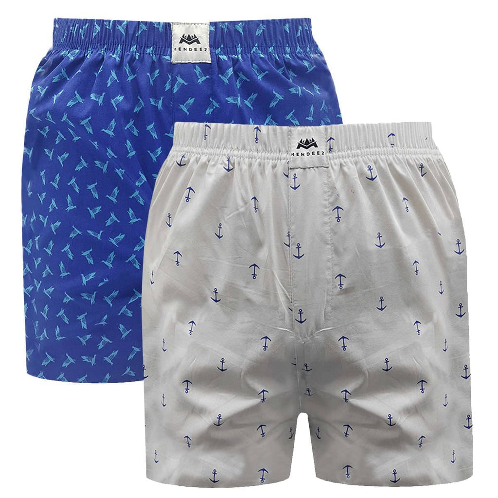 Woven Boxer Shorts - Pack of 2