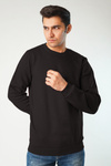 Begrime Fleece Crew Sweatshirt (4822503882861)