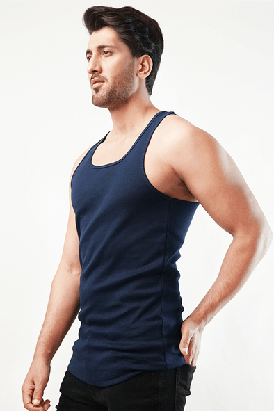 Calisthenics Tank Top - Navy Blue - MENDEEZ (4791105945709)