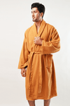 Campero Bathrobe - Mustard - MENDEEZ (4789728182381)