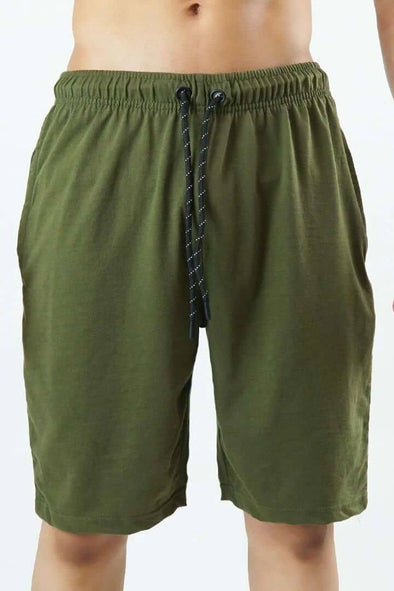 Casual Shorts - Green - MENDEEZ