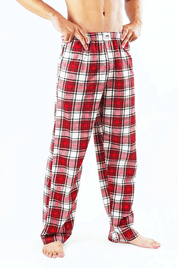 Checker Red Pajama - MENDEEZ (4757356871789)