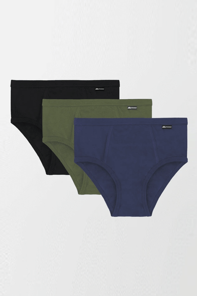 Color Cotton Brief - Pack of 3 - MENDEEZ (1676613156973)