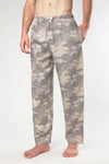 Military Camoflague Woven Pajama