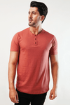 Friege Short Sleeve Henley T-Shirt - MENDEEZ (4793771458669)