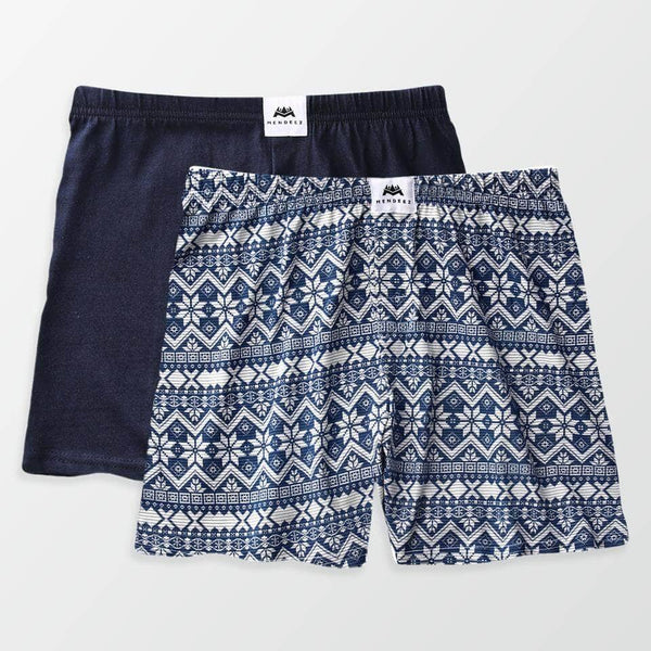 Jersey Boxer Shorts - Pack of 2